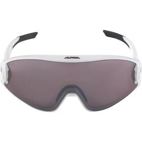 Alpina 5W1NG Q+CM Glasses white matt